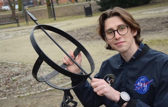 Jakub Florczak chce pracować w NASA. Już utrzymuje kontakty z pracownikami tej agencji kosmicznej.