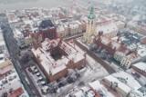 Toruń zimą widziany z drona. Zobacz, jak pięknie wyglądał Toruń z góry! Oto zdjęcia!