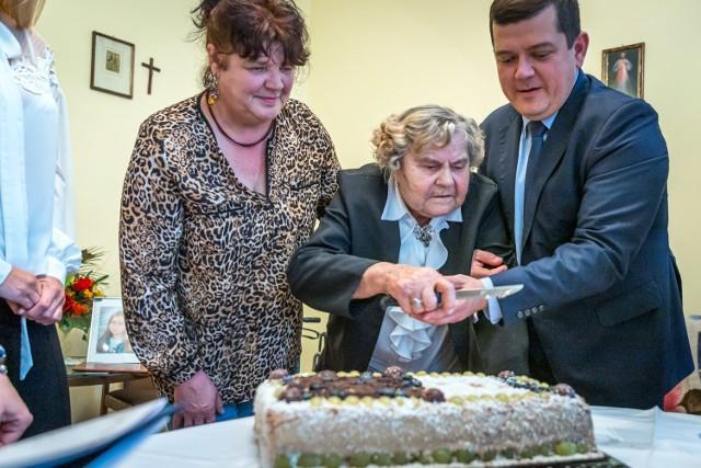 Gorzowianka Marianna Kaczor 4 listopada skończyła 100 lat!