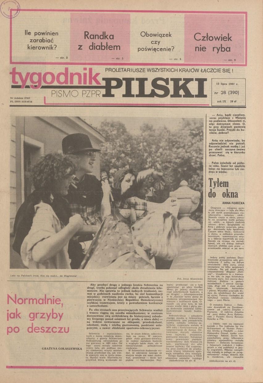 Klempicz, Malita, Bukowina i zarazki. Co jeszcze? Tygodnik w cytatach (1987 r.)
