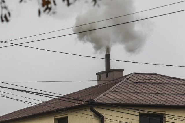 Choć pojedynczy komin generuje stosunkowo mało zanieczyszczeń, wystarczy zgromadzić ich wiele na niedużym obszarze, żeby powstała dusząca chmura smogu.
