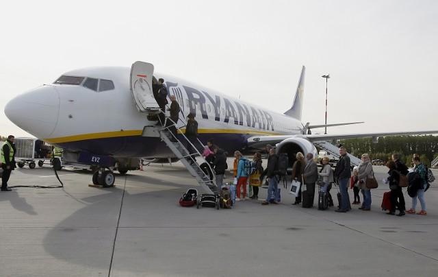 Remont na lotnisku w Łodzi