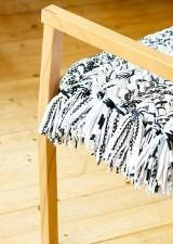Własnoręcznie wykonana poduszka na krzesło