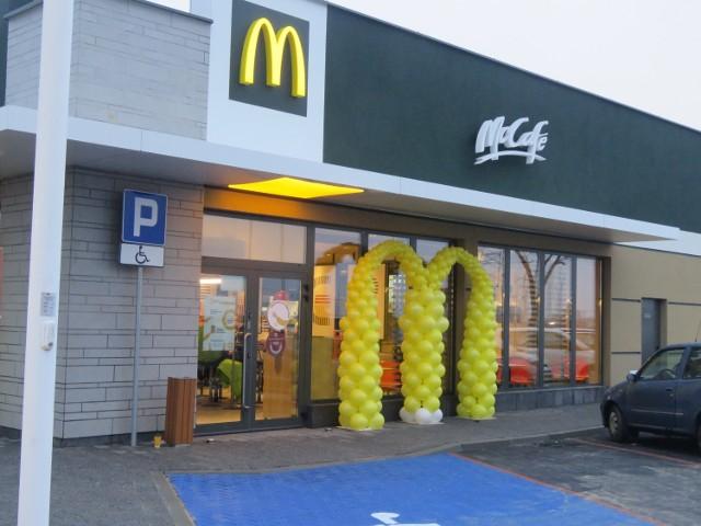 28.11. 2020 godz. 7.30 Otwarcie McDonald's w Andrychowie