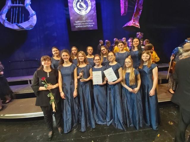 Chór MDK Białystok na festiwalu Schola VCantorum w Kaliszu 2020