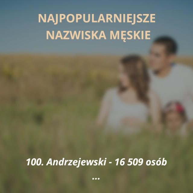 Oto sto najpopularniejszych nazwisk męskich w Polsce. Jesteście ciekawi, czy Wasze nazwisko jest wśród tych najczęściej spotykanych? Sprawdzicie to na naszej liście!