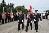 Uroczystość wręczenia sztandaru OSP Zakrzewko. Msza polowa, poświęcenie tablicy upamiętniającej Powstańców Zakrzewka - 06.08.2021 [Zdjęcia]
