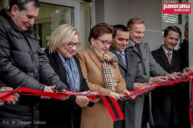 Uroczyste otwarcie nowej siedziby Gazowni w Wałbrzychu