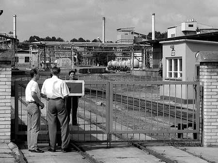 O pierwszym wypadku kierownictwo Zakładów Chemicznych powiadomiło inspekcję pracy z tygodniowym opóźnieniem. Foto: JAKUB MORKOWSKI