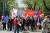 1 Maja: pochód SLD i OPZZ w Łodzi [ZDJĘCIA]