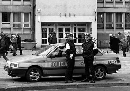 Miasto nie pomoże policji.