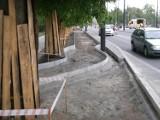 Tak rozwiązano problem z drogą rowerową na placu Rapackiego