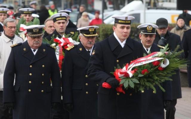 Marynarka Wojenna w Gdyni - 96. rocznica powstania MW