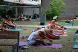 Pierwsze zajęcia z jogi w sierpniu. Zobaczcie zdjęcia [FOTO]