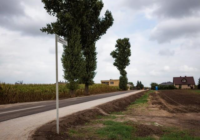 Nowa droga powstała w Niemczynie pod Damasławkiem