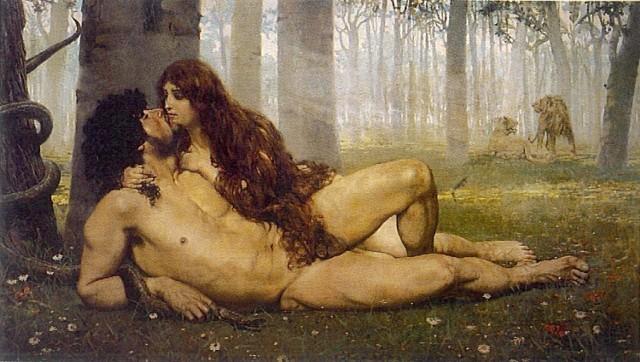 Obraz Pierwszy pocałunek, autor Salvador Viniegra, wiek XIX