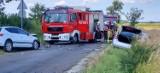 Wypadek między Gorańcem a Pawłowem. Są osoby poszkodowane
