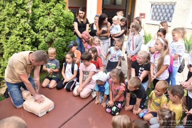 Szkolenie udzielania pierwszej pomocy w jednostce OSP Wołczyn