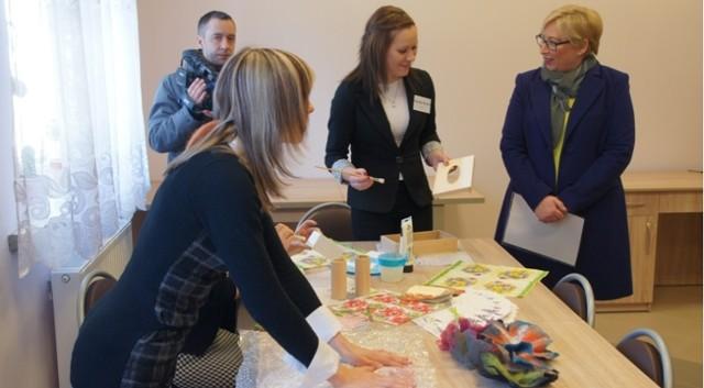 Uroczyste otwarcie Zakładu Aktywności Zawodowej w Bartoszycach