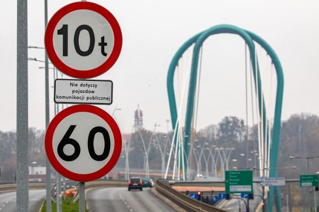Ograniczenia prędkości i zakazy wjazdu dla ciężarówek wprowadzono na Trasie Uniwersyteckiej w drugiej połowie sierpnia.