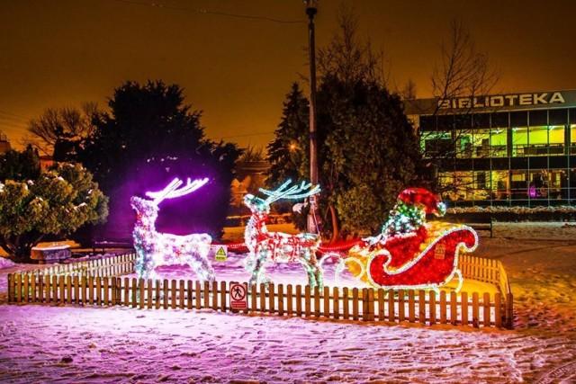 Ozdoby świąteczne w Zagłębiu: Będzin, Czeladź, Sosnowiec