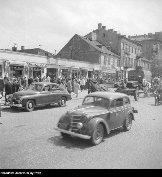 Ulica Targowa w Warszawie (1958)