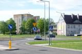 Rondo przy placu Konstytucji 3 Maja w Żarach w końcu przejezdne. Po wielu miesiącach zakończył się remont