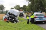Karambol na DK6 w Malechowie. Bilans zderzenia 5 samochodów NOWE ZDJĘCIA