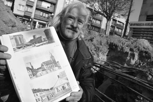 Dwa lata temu Henryk Jan Kustosz opowiadał na naszych łamach, jaki przed wiekami wyglądał Stary Rynek w Gorzowie.