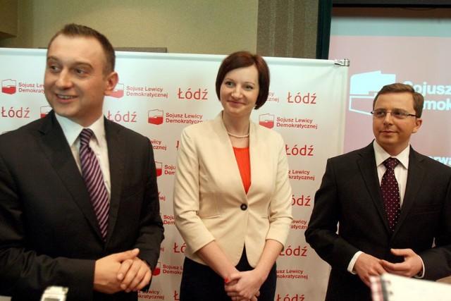 Tomasz Trela został szefem SLD w Łodzi a Małgorzta Moskwa została Sekretarzem Rady Miejskiej, poseł Dariusz Joński