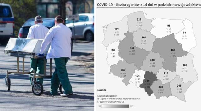 Sprawdziliśmy, ile osób zmarło z powodu pandemii koronawirusa w ciągu ostatnich 2 tygodni, w poszczególnych miastach i powiatach woj. śląskiego. Dane sprawdzisz w galerii poniżej. Miasta i powiaty publikujemy w kolejności, od tych z najmniejszą śmiertelnością, do tych z największą.  Kliknij kolejne zdjęcie i sprawdź swoje miasto i powiat>>>