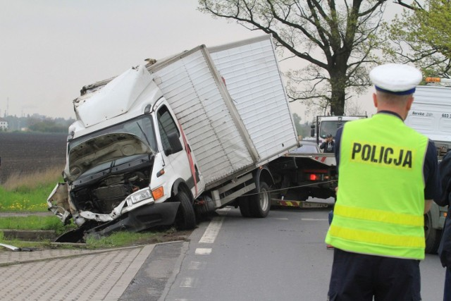W Emilianowie zderzyły się dwa samochody.