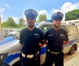 Czarnkowscy policjanci uratowali życie 49-latka