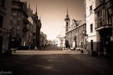 Toruń w czasie zarazy. Zobacz zdjęcia z pustych ulic naszego miasta!