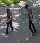 Policjanci poszukują mężczyzny podejrzanego o kradzież dużej sumy pieniędzy. Rozpoznajesz go?