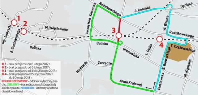 Krakow Od Piatku W Bronowicach Wielkie Utrudnienia Mapa