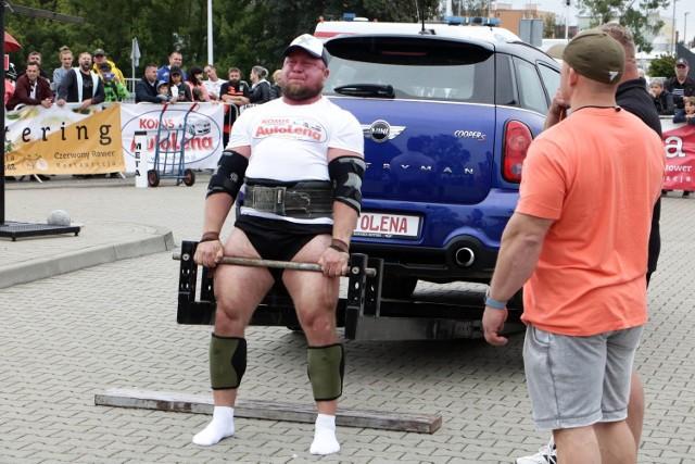 Zawody Pucharu Polski Strongman Grudziądz 2021 w grudziądzkiej marinie