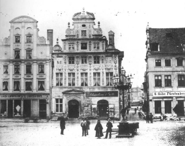 Kamienice przy ulicy Siennej 6,7 i 8.