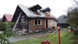 W Przytkowicach spłonął dom, lokatorzy zdążyli uciec