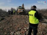 Policja udaremniła powstanie nielegalnego wysypiska śmieci w Zabrzu. Funkcjonariusze nakryli sprawców na gorącym uczynku