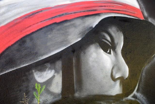 Powstańcy mural na Śląsku