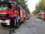 Konin. Strażacy z naszego miasta pomagają w gaszeniu pożarów lasów w Grecji