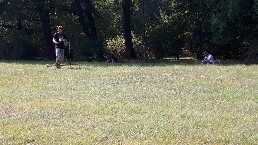Park gołuchowski w kręgu zainteresowań archeologów