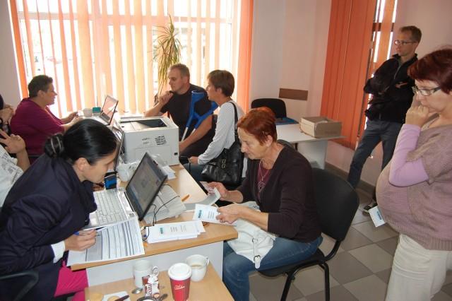 Trwa dyżur pracowników NFZ w redakcji Dziennika Bałtyckiego