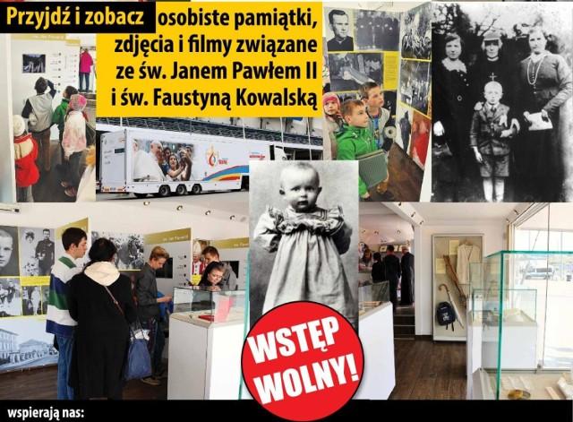 Mobilne Muzeum Jana Pawła II w Tychach - 19 czerwca w godz. 8.30-19