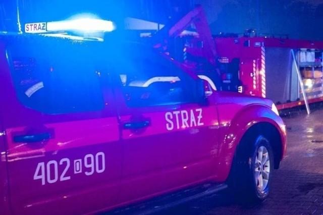 Do pożaru doszło w hotelu w Kuniowie koło Kluczborka
