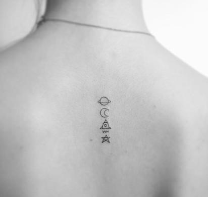 Minimalistyczne Tatuaże Robią Wielkie Wrażenie Zobaczcie Sami