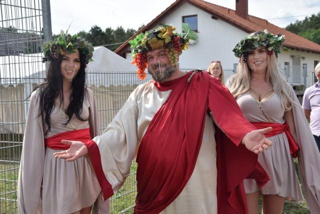 Wizyta Bachusa w sołectwach Zielonej Góry. W niedzielę spotkania odbyły się w Kiełpinie i Ługowie.
