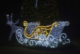 Świąteczne Końskie nocą już wyglądają przepięknie. Zobacz iluminacje [ZDJĘCIA]