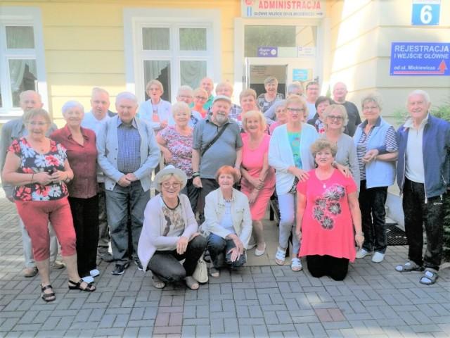 Członkowie Sekcji Emerytów i Rencistów ZNP w Świebodzinie podczas pobytu w Ciechocinku i Bydgoszczy na przełomie czerwca i lipca 2019